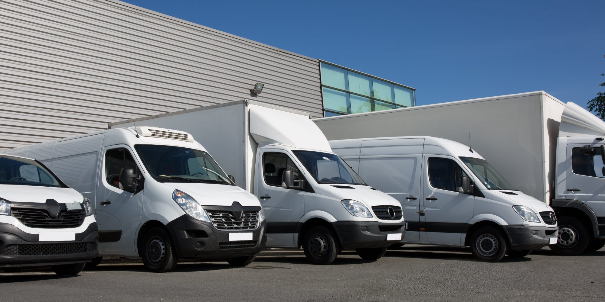 Park society specialized delivery with small trucks and van